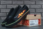 Женские кеды THRASHER x Vans Old Skool Black (black/fire) - 42z