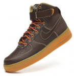 Кроссовки Nike Air Force 1 high (brown/light brown) - 24Z