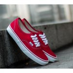 Кеды Vans Authentic Low (red/white) - 17z