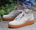 Кроссовки Nike Air Force 1 high (grey/brown) - 48Z