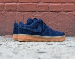 Кроссовки Nike Air Force 1 low (navy/brown) - 44Z