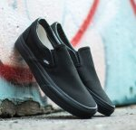 Кеды Vans Classic Slip On (black mono) - 22z