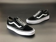 Женские кеды Vans Old Skool 2020 (black/white) - 23B