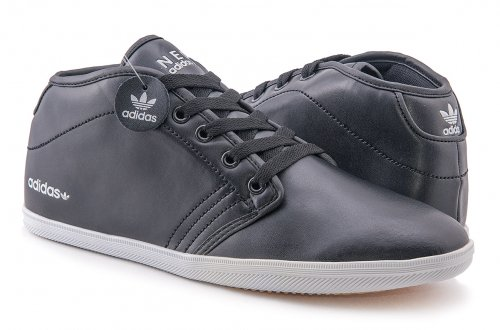 Кроссовки Adidas Neo Casual High (black) - 02Z