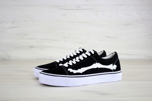 Кеды Vans Old Skool Bone Jazz-Stripe (black/white) - 26z