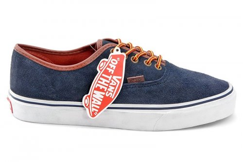 Кеды Vans Authentic Suede (blue/white) - 39z
