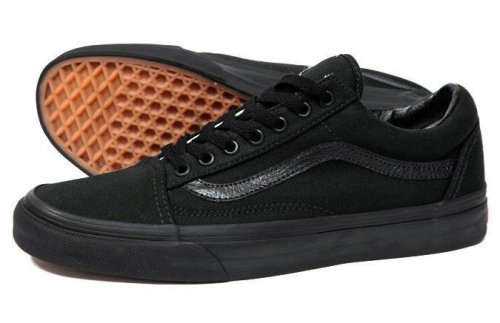 Мужские кеды Vans Old Skool (mono black) - 17z