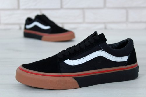 Кеды Vans Old Skool (black/beige) - 19z
