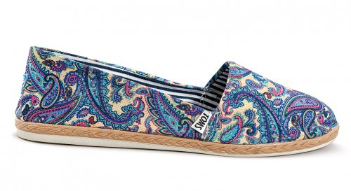 Женские кеды Toms 2020 (light blue/white)  - 13z