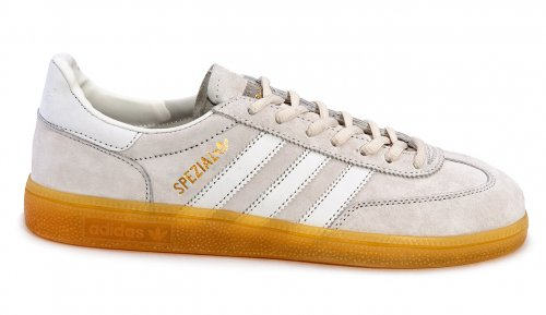 Мужские кроссовки Adidas Originals Spezial (grey/white) - 17z