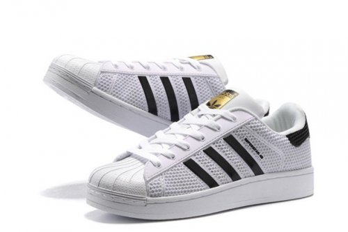 Кроссовки Adidas Superstar Stan Smith GL (white/black) - 15w