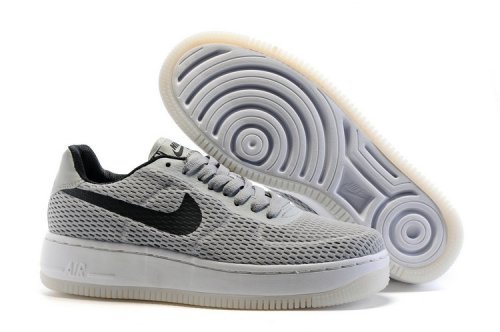 Кроссовки Nike Air Force 1 low (grey/black) - 38Z