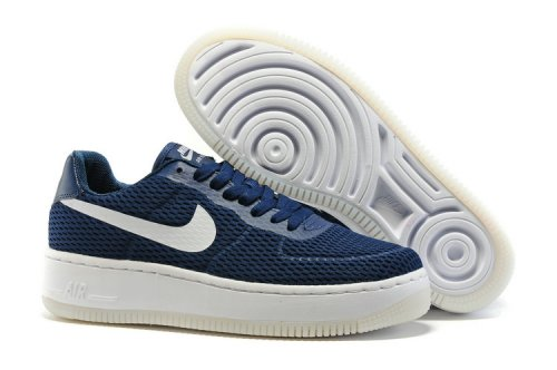 Кроссовки Nike Air Force 1 low (navy/white) - 37Z