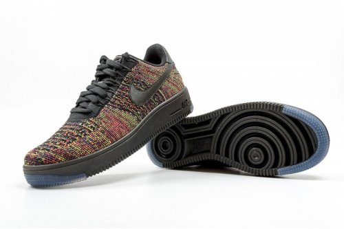 Кроссовки Nike Air Force 1 Flyknit low (electro) - 43Z