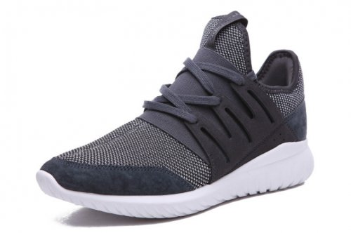 Мужские кроссовки Adidas Originals Tubular Nova (grey/white) - 59z
