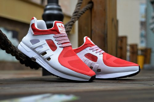 Мужские кроссовки Adidas Originals EQT Racer (red/grey) - 64z