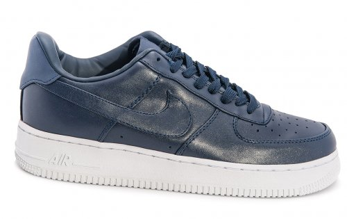 Кроссовки Nike Air Force 1 low leather (navy/white) - 67Z