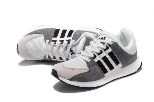 Кроссовки Adidas Originals Equipment suede (white/grey/black) - 34Z