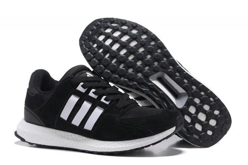 Кроссовки Adidas Originals Equipment suede (black/white) - 35Z