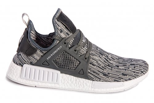 Мужские кроссовки Adidas Originals NMD V3 (grey/black/white) - 69z