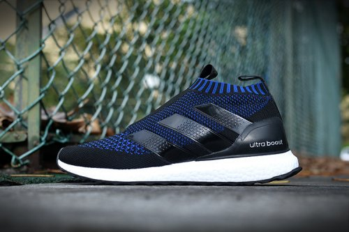 Кроссовки Adidas Ultra Mid (dark blue/black/white) - 24z