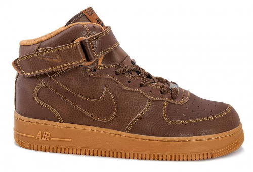 Кроссовки Nike Air Force 1 high (brown) - 23Z