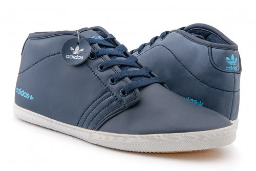 Кроссовки Adidas Neo Casual High (blue) - 03Z