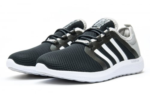 Мужские кроссовки Adidas Originals Bounce (mono black) - 69z