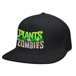 Кепка Plants and zombies (black/green) - 14K